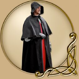 Costume - Black Cape with Collar